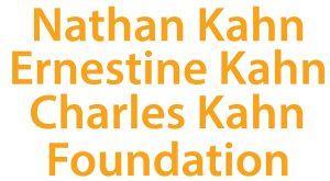 Nathan Kahn, Ernestine Kahn, Charles Kahn Foundation
